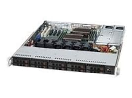 Supermicro 1U SuperChassis, 700W HE PS, Black, CSE-116TQ-R700CB, 14035458, Cases - Systems/Servers