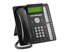 Avaya 1616 IP Telephone, Black (Icon Only), 700504843, 17340183, VoIP Phones
