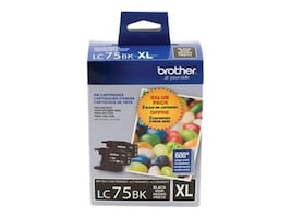 Brother Black Innobella High Yield XL Series Ink Cartridges for MFC-J6510DW & MFC-J6710DW (2-pack), LC752PKS, 12358608, Ink Cartridges & Ink Refill Kits - OEM