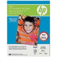 HP 8.5 x 11 Everday Glossy Photo Paper (50-sheets), Q8723A, 7874131, Paper, Labels & Other Print Media
