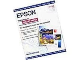 Epson High Quality Inkjet Paper Letter Size 100 Sheets, S041111, 39167, Paper, Labels & Other Print Media