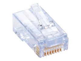 Black Box CAT6 EZ-RJ45 Modular Plug, 100-Pack, C6EZUP-100PAK, 16076034, Cable Accessories