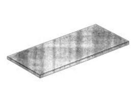 Tessco Rubber Mat, 1 2x 18x 48, WSRM/18-48, 17541612, Mounting Hardware - Miscellaneous