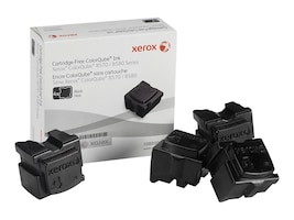 Xerox Xerox Colorqube Ink Black, Colorqube 8570 (4 Sticks), North America For Colorqube 8580, 108R00930, 12150436, Toner and Imaging Components - OEM