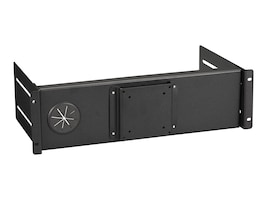 Black Box FIXED FLAT-PANEL MONITOR MOUNT FOR RACKS, RM982F, 33001317, Stands & Mounts - Desktop Monitors