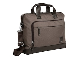 Brenthaven 15 Medina Collection Slim Brief, Chestnut, 2332, 31854421, Carrying Cases - Notebook