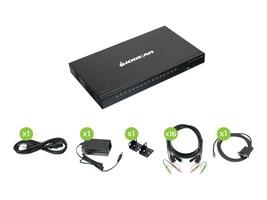 IOGEAR 16Port USB HDMI KVM w Cable Kt, GCS1816HKITU, 36416201, KVM Switches