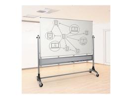 Balt Porcelain Markerboard, Both Sides, 4ft x 6ft, 669RG-DD, 32303137, Whiteboards