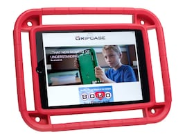 Gripcase Rugged Case for iPad Air iPad Air 2, Red, IAIR2-RED, 34252097, Carrying Cases - Tablets & eReaders