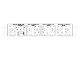 Eaton 2U ePDU RE L21-30P Input, (14) 5-20R Outlets, PC2641-D-L, 35136266, Power Distribution Units