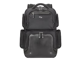 SOLO 15.6 Lexington Backpack, Black, EXE750-4, 35982083, Carrying Cases - Notebook