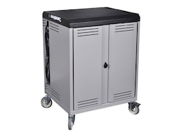 Spectrum Industries Connect36 Mobile Device Cart with PowerProdigy and Rotated Outlets, 55423-DBV, 34216758, Computer Carts