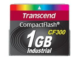 Transcend 1GB 300X UDMA5 CompactFlash Memory Card, TS1GCF300, 30741504, Memory - Flash