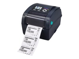 TSC TC200 203dpi 6ips Thermal Transfer Label Printer - Navy w  (4) Ports, 99-059A003-21LF, 32184810, Printers - Label