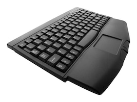 Adesso Mini-Touch USB Keyboard with Touchpad, Black, ACK-540UB, 435910, Keyboards & Keypads