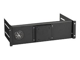 Black Box FIXED FLAT-PANEL MONITOR MOUNT FOR RACKS, RM982F, 33001317, Stands & Mounts - AV
