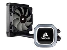 Corsair Hydro Series H60 Single 120MM Fan Liquid CPU Cooler, CW-9060036-WW, 35256760, Cooling Systems/Fans