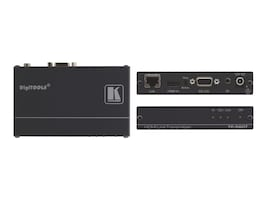 Kramer 4K60 4:2:0 HDMI HDCP 2.2 Transmitter with RS–232 & IR over Long–Reach HDBaseT, TP-580T, 33754036, Video Extenders & Splitters