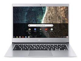 Acer Chromebook CB514-1H-C67U Celeron N3350 1.1GHz 4GB 32GB eMMC ac BT WC 14 HD Chrome OS, NX.H4BAA.002, 36397610, Notebooks