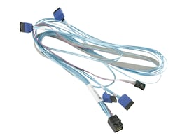 Supermicro Mini-SAS HD 4x SATA Cable, CBL-SAST-0810, 32481187, Cables