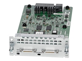 Cisco NIM-2T Main Image from Front