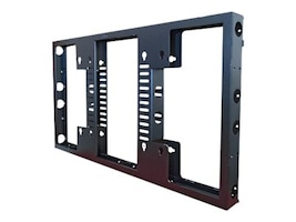 Premier Mounts Modular Video Wall Frame for 55 Flat Panel Displays, Black, MVW554UNS-2, 31027708, Monitor & Display Accessories - Video Wall