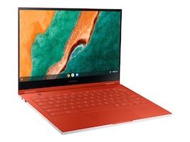 Samsung Galaxy Chromebook Core i5-10210U 8GB 256GB SSD ax BT FR 2xWC 13.3 UHD MT Chrome OS Red, XE930QCA-K01US, 38325652, Notebooks - Convertible