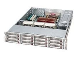 Supermicro Chassis, 2U Rackmount, EATX, Dual Xeon, 12 SAS SATA HS, 800W RPS, Black, CSE-826TQ-R800LPB, 7351962, Cases - Systems/Servers