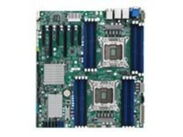 Tyan Motherboard, SSI EEB Intel C602 (2x) Xeon E5-2600 Family Max.512GB DDR3 10xSATA 6xPCIe 2xGbE, S7053GM2NR, 15610514, Motherboards