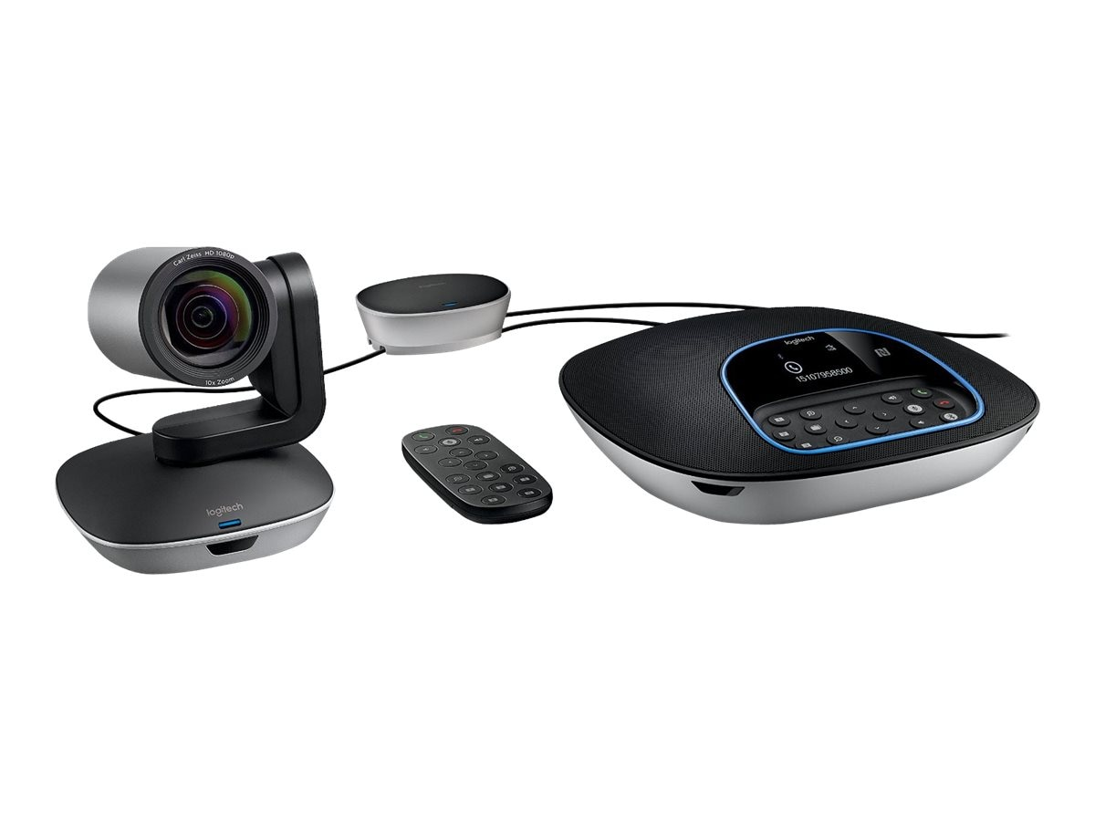 Logitech Group Video Conferencing Collaboration System, 960-001054, 31464941, Audio/Video Conference Hardware