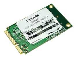 VisionTek 240GB mSATA 3D MLC Internal Solid State State Drive, 900986, 34181647, Solid State Drives - Internal