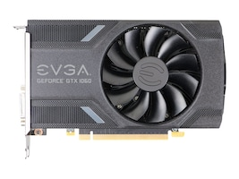 eVGA GeForce GTX 1060 PCIe Graphics Card, 6GB GDDR5, 06G-P4-6161-KR, 32316886, Graphics/Video Accelerators