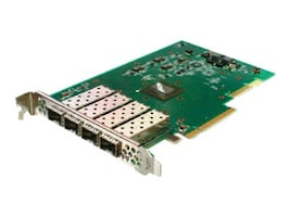 Solarflare Flareon Ultra Quad-Port 10GbE PCIe 3 Server Adapter, SFN7124F, 23208437, Network Adapters & NICs