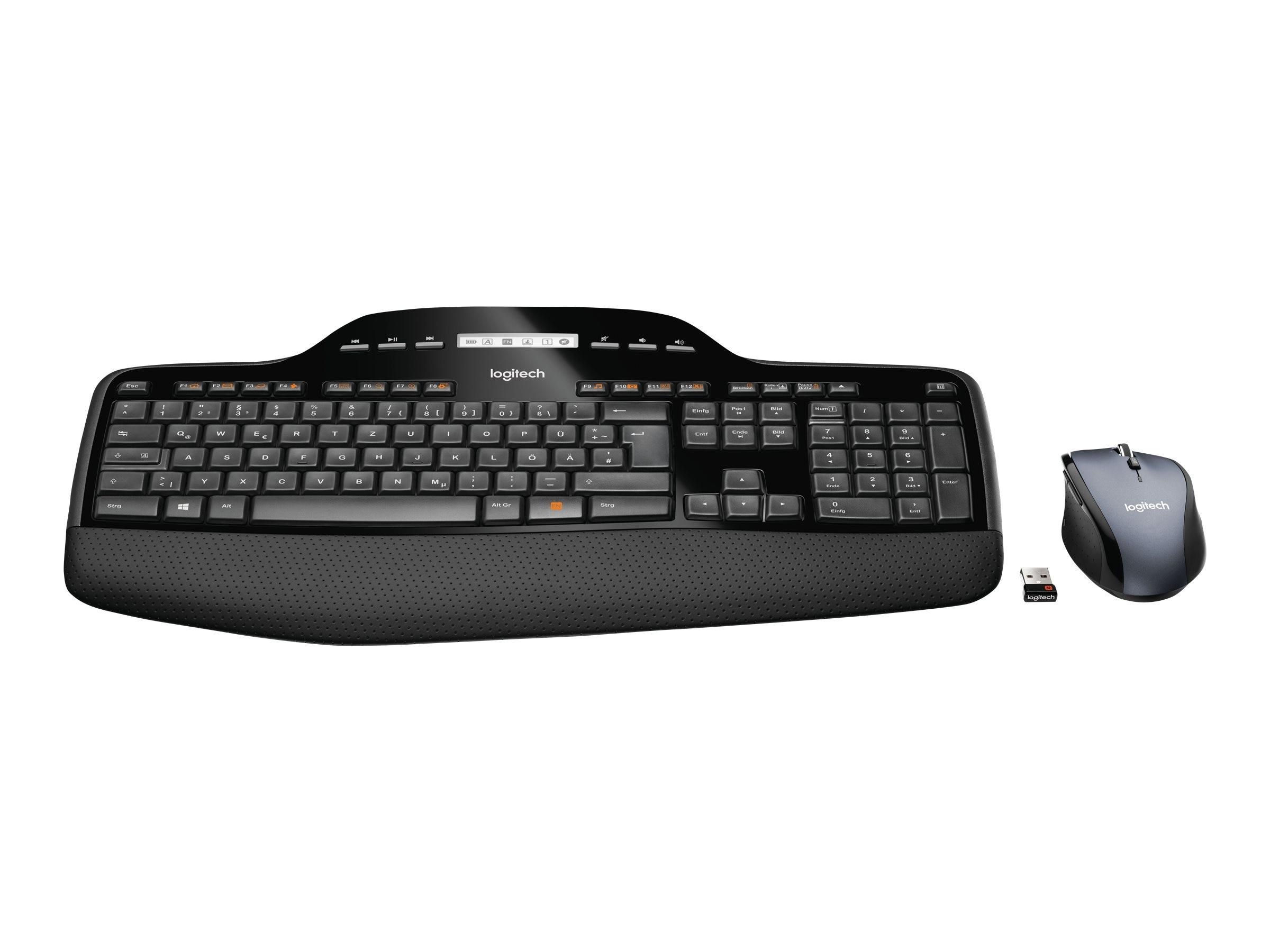 Logitech Wireless Desktop MK710, 920-002416, 11030310, Keyboard/Mouse Combinations