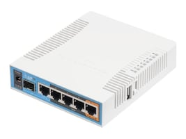 Mikrotik hAP ac GbE Dual Band Indoor AP w Int Ant, RB962UIGS-5HACT2HNT-US, 34734803, Wireless Access Points & Bridges