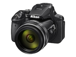Nikon CoolPix P900 Digital Camera, Black, 26499, 32555431, Cameras - Digital
