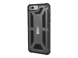 Urban Armor Monarch Series Case for iPhone 6 Plus 6s Plus 7 Plus 8 Plus, Graphite, IPH8/7PLS-M-GR, 35395655, Carrying Cases - Phones/PDAs