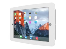 Compulocks iPad Enclosure, Space Wall Mount, fits iPad 2 3 4 , White, 224SENW, 16208341, Locks & Security Hardware