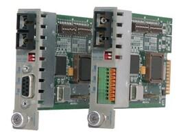 Omnitron ICONVERTER 232 RS-232 DB9 F to LC MM Fiber 1310NM 5KM Module, 8766-0, 30785769, Network Transceivers