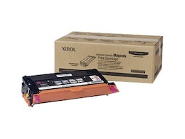 Xerox Magenta Toner Cartridge for Xerox Phaser 6180 Printers, 113R00720, 7438241, Toner and Imaging Components