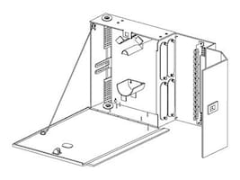Corning Wall-Mountable Closet Housing, 4 Panels, WCH-04P, 6858438, Premise Wiring Equipment