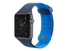 Belkin Sport Band for Apple Watch, 42mm, Blue, F8W730BTC02, 33418737, Wearable Technology