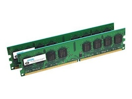 Edge 4GB PC2-5300 240-pin DDR2 SDRAM UDIMM Kit, PE20693202, 7901338, Memory