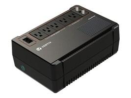 Vertiv Liebert Vertiv Desktop 600VA UPS w  (3) Surge & Battery Backup Outlets & (2) Surge-Only Outlets, VDSK600LV, 36692352, Battery Backup/UPS