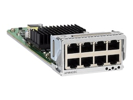 Netgear 8-Port 100M 1G 2.5G 5G 10GBase-T Port Card For M4300-96X (Worldwide), APM408C-10000S, 35092241, Network Device Modules & Accessories