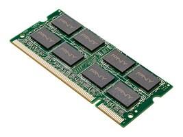 PNY 2GB PC2-5300 DDR2 SDRAM SODIMM, MN2GSD2667, 29830737, Memory