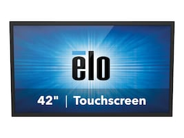 ELO Touch Solutions 42 4243L Full HD LED-LCD IntelliTouch Plus Monitor, Black, E000444, 17382113, Monitors - Large Format - Touchscreen/POS