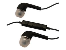 4Xem Erbud Earphones for Samsung Galaxy Tab - Black, 4XSAMEARBK, 33248723, Headsets (w/ microphone)