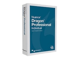 Nuance Dragon Professional Individual 15.0, K809A-G00-15.0, 32689412, Software - Voice Recognition