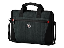 Wenger STRUCTURE SLIMCASE BLUE HEATHERCASEFITS UP TO 14 N LAPTOP, 28042090, 38412166, Carrying Cases - Other
